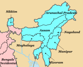 Indian Northeastern Region