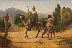 Wilhelm_Marstrand,_Don_Quixote_og_Sancho_Panza